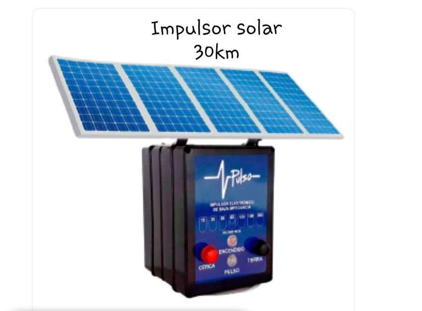 impulsor cerca eléctrica solar