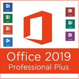 Office 2019 y licencias originales de Windows 10
