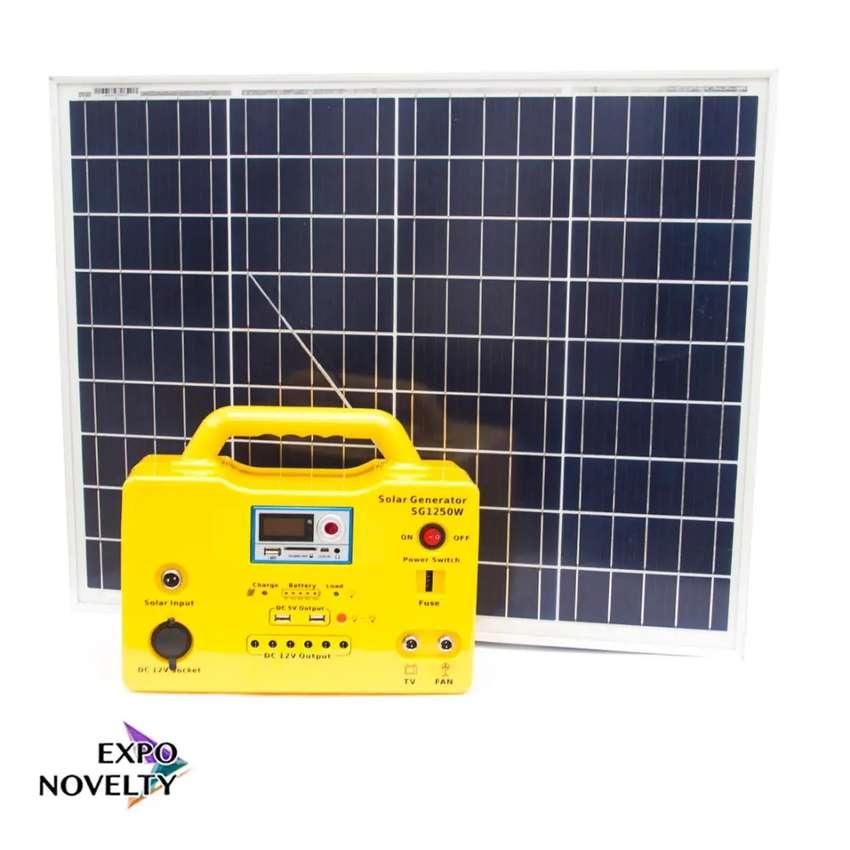 Kit solar de emergencia 1230 watts 0