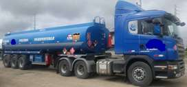 Camión cisterna SCANIA G420 (TRACTO + CISTERNA)