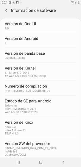 Se vende Samsung Galaxy J6 Plus