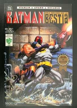 Batman, las diez noches de la Bestia. Aventura completa.