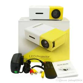 Mini Proyector Led 600lm 1080p Video 320x240 Pixeles