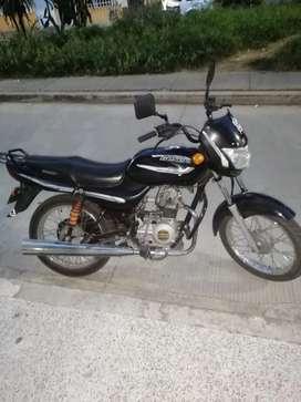 Moto boxer como nueva