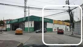 Alquiler local comercial Garzota 1100mts2 frente café de tere