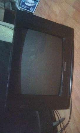 Televisor de 21 pulgadas perfecto estado imagen, sin control