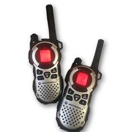 Duo Pack Walkie Talkie Motorola