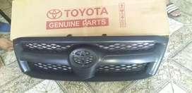 Parrilla De Frente Toyota Hilux negra