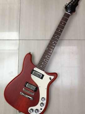 guitarra Epiphone '66 Worn Wilshire Worn Cherry 2009