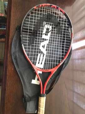 Vendo raqueta marca head modelo junior