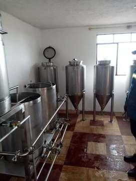 Planta de cerveza artesanas