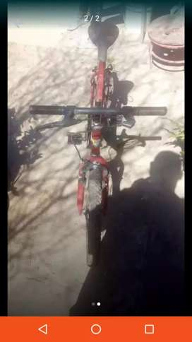 Bicicleta Tomaselli escucho ofertas