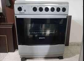Estufa superior línea de lujo 6 puestos horno