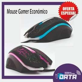 MOUSE GAMER ECONÓMICO