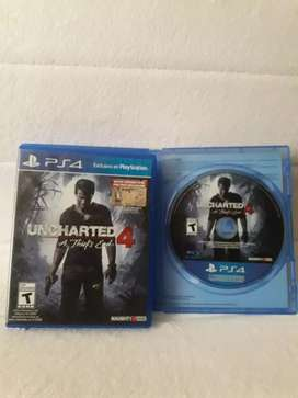 "Uncharted 4 ""A Thief End"" Ps4"
