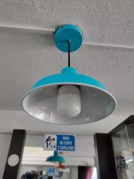 Se vende juego de 5 lámparas en excelente estado