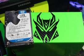disco duro de 1 tb WD 1000gigas para portatil o pc o xbox