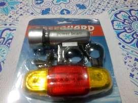 kit de iluminación para bicicleta completo luz delantera giros traseros
