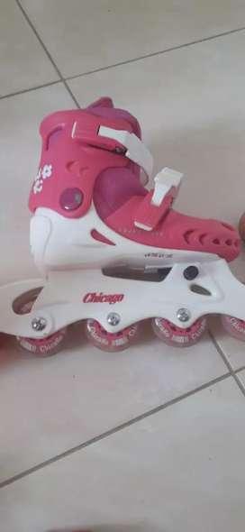 Vendo patines para niña