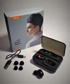 Auriculares TWS F-9 Bluetooth V5.0