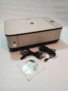 Multifuncional Canon MP250, fotocopiadora, scanner e impresora, $ 60 mil, perfecto estado, cartuchos recargables.