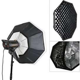 Octabox 120cm Godox Con Grid para cabeza de luz