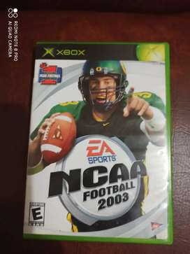 Ncaa Footbal 2003 - Futbol Americano / Xbox Clasico