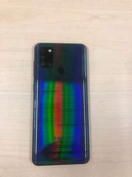 Samsung Galaxy A21 S poco tiempo de uso