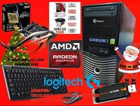 VENDO CPU GAMER AMD A8 7600 FORTNITE /  DOTA 2 / LOL  CPU AMD A8 7600K 3.8GHZ 4 NUCLEOS VIDEO INTEGRADO RADEON R7 DE 2GB