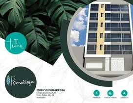 Ed. Pomarrosa. Apartamentos 1, 2 y 3 alcobas. Centro de Manizales
