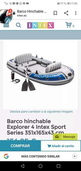 Barca  inflable