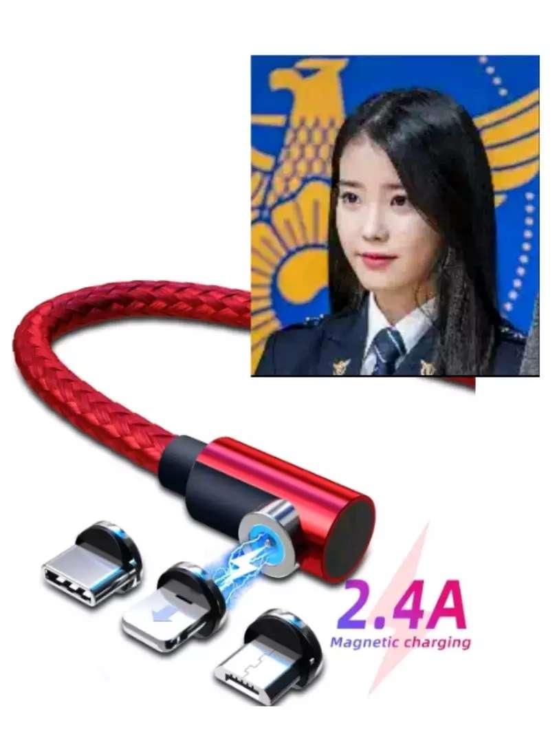 Cable magnético imantado Carga Rapida 100% cobre 0