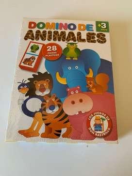 Domino de Animales 3 Años Nuevo Para Reyes