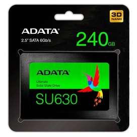 DISCO DE ESTADO SOLIDO SSD 240GB SU630 ADATA 3D SATA 2.5