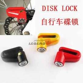 Candado Seguridad Freno Disco Motos Bicicleta