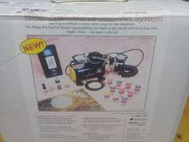 Compresor portatil profesional para pintar uñas