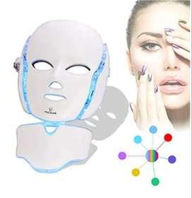 mascara facil led 7 luces