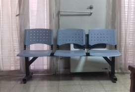 vendo sillas salas de espera