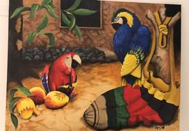 Cuadro Artes Aves