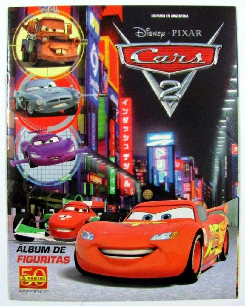 Cambio laminas de album Cars2 0