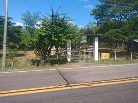 Vendo hermoso lote plano a 10 minutos de Girardot sobre la vía nacional Bogotá- Girardot