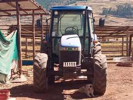 Tractor agricola new hollan