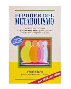 Libro El Poder Del Metabolismo de Frank Suárez En Digital.