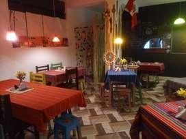 TRASPASO RESTAURANTE VEGETARIANO/VEGANO con clientela turística y fija
