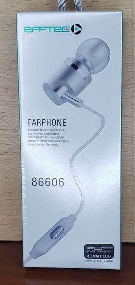 Auriculares INEar Con Microfono Efftecplay Earphone 86606