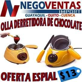 OLLA DERETIDORA DE CHOCOLATE