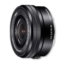 Lente Sony 16-50mm F. 3,5-5,6 OSS (APSC)