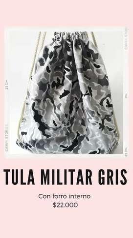 Tula militar gris
