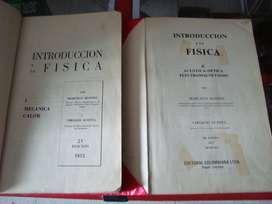 Introducción a la Fisica I y II Usado