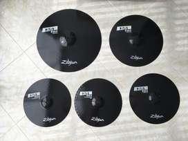 Platillos Zildjian Pitch Black Set - Como Nuevos - Negociable